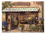 Antique Shop Poster by Sung Kim