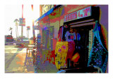 T-Shirts, Venice Beach, California Giclee Print by Steve Ash