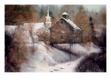 Spirit of Winter Premium Giclee Print by Esther Engelman