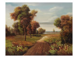 Fisherman Trail Giclee Print by Lazzara 