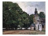 La Chapelle De Notre-Dame De Grace, Honfleur Giclee Print by Claude Monet