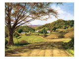 Country Roads Premium Giclee Print by Lene Alston Casey