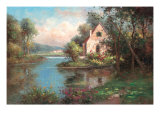 Enchanting Chateau Premium Giclee Print by  Hilger