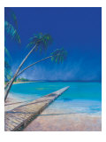 Bahama Beach Posters by Fred Fieber