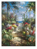 Tropical Breezeway Giclee Print by James Reed