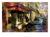 Au 35 Restaurant, France Giclee Print by Nicolas Hugo