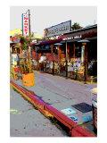 Market, Venice Beach, California Giclee Print by Steve Ash
