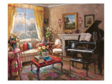 The Music Room Giclee Print by Foxwell