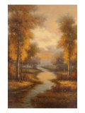 Fall Creek Premium Giclee Print