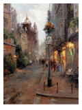 Strolling in Montpellier Giclee Print by Hovely