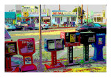 Jobs, Venice Beach, California Giclee Print by Steve Ash