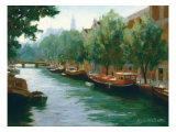 Bateau Boulevard Prints by Roger Williams