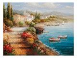 Seaside Stairsteps Wydruk giclee premium autor Catano