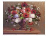 Angelina's Flowers II Premium Giclee Print by  Welby