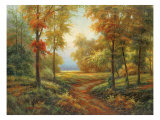Early Autumn Path Giclee Print by Lazzara 