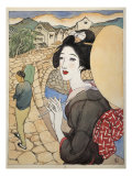 The Series Twelve Scenes from Nagasaki, Japan Giclee Print by Yumeji Takehisa