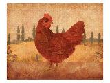 Tuscan Hen II Kunstdrucke von Lisa Ven Vertloh