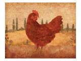 Tuscan Hen II Prints by Lisa Ven Vertloh