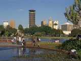 City Skyline, Nairobi, Kenya, East Africa, Africa, Photographic Print