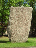 Rune Stone in Grounds of Uppsala Cathedral, Sweden, Scandinavia, Europe Photographic Print by Richard Ashworth