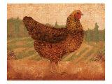 Tuscan Hen I Kunstdrucke von Lisa Ven Vertloh