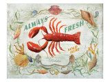 Lobster Giclee Print by Scott Jessop