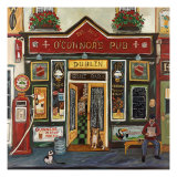 O'Connor's Pub Premium Giclee Print by Suzanne Etienne