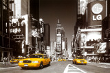 Times Square - Yellow Cab Photographie