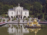 Schloss Linderhof in the Graswang Valley, Built Between 1870 and 1878 for King Ludwig II, Germany Photographic Print by Nigel Blythe