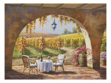 Vineyard for Two Poster by Sung Kim
