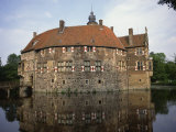Vischering Water Castle, Ludinghausen, Southwest of Munster, Nord Rhein-Westfalen, Germany, Europe Photographic Print by Richard Ashworth