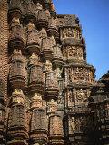 Sculpted Walls, Nilkanthesvara Temple, Udayapur, Madhya Pradesh State, India Photographic Print by Richard Ashworth