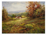 Italian Country Home Premium Giclee Print by  Hulsey