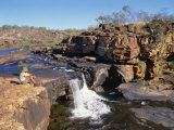 Mitchell Falls in Kimberley, Western Australia, Australia Photographic Print by Richard Ashworth