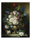 Ornamental Bouquet Premium Giclee Print