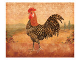 Florentine Rooster I Art by Lisa Ven Vertloh