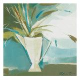 Blue Vase II Print by Natasha Barnes