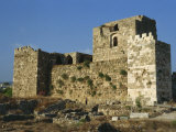 Crusader Fortress, Byblos, Lebanon, Middle East Photographic Print by Nelly Boyd