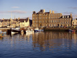 Boats in Kirkwall Harbour at Dusk, Orkney Isles, Scotland, United Kingdom, Europe Photographic Print by Richard Ashworth