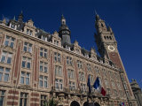 Chamber of Commerce Building in the City of Lille, Nord Pas De Calais, France, Europe Photographic Print by Nelly Boyd