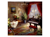 Music Parlor Giclee Print by Foxwell 