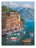Villagio Del Porto Prints by Sung Kim