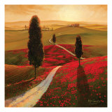 Tuscany Poster by Thomas Mcgrath