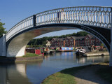 Iron Bridge to Braunston Marina, Grand Union Canal, Near Daventry, Northamptonshire, England, UK Photographic Print by Richard Ashworth