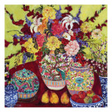 Floral Arrangement II Posters by Cynthia Gatien