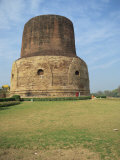 Dhamekh Stupa, Sarnath, Near Varanasi, Uttar Pradesh State, India Photographic Print by Richard Ashworth
