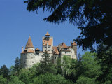 Bran Castle, Transylvania, Romania, Europe Photographic Print by Charles Bowman