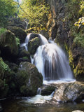 Lordor Cascade, Borrowdale, Lake District, Cumbria, England, United Kingdom, Europe Photographic Print by Nigel Blythe