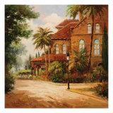 Hacienda de Santiago Poster by Enrique Bolo