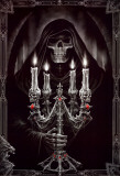 Candelabra Posters by Anne Stokes